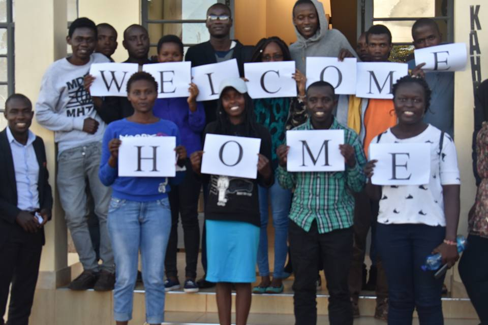 Welcome home in Pictures